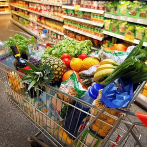 Магазины продуктов Идели